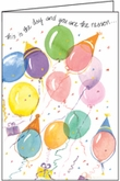 B4162 - Balloons Birthday Cards