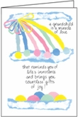 BA617 - Grandchild Congratulations Cards