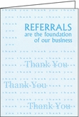 BC07 - Referrals Thank You Cards