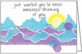 BL185 - Someone's Thinking of You Hospice Note Cards
