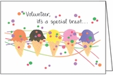 BL238V - Special Treat Volunteer Note Cards