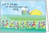 BL267 - Thinking of You Blank Note Cards