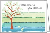 BL42 - Donation Thank You Note Cards