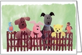 BL47 - On-the-Fence Animal Note Cards