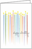 BU102 - Gold Foiled Birthday Cards