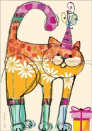 BU132 - Cat Birithday Cards