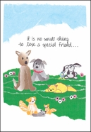 G478 - Veterinarian Sympathy Cards