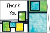 HBL32 - Geometric Design Thank You Notes