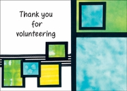 HBL32V - Thanks Volunteer Note Cards