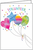 HBL36V - Balloons Volunteer Birthday Cards