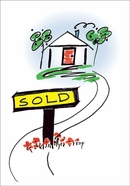HF407 - Sold New Home Congratulations Cards
