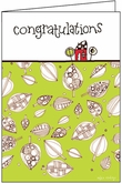 HU415 - Fun Pattern Congratulations Cards