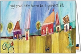 HU416 - Whimsical Neighborhood Congratulations Cards