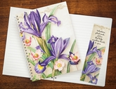JRL02B - Floral Bookmark and Journal Set for Volunteers.