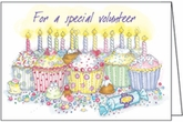LBL49V - Happy Birthday Volunteer Note Cards