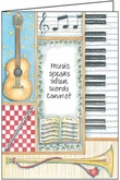 LBL54 - Music Speaks Note Cards