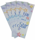 MARK-V4-20 - Star Volunteer Bulk Bookmarks