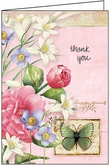 MBL13 - Lovely Thank You Note Card