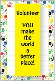 NP48V - Handprints Volunteer Notepad