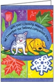 P3409 - Condolence Cards for Veterinarians