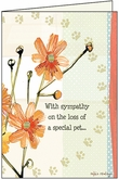 PU427 - Tresured Friend Pet Sympathy Cards