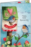 RE1406 - New Home Anniversary Cards