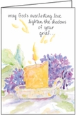 S4234C - Candlelight Sympathy Cards