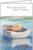 S4251 - Row Boat Sympathy Cards