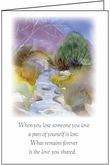 S9221 - Peaceful Moments Sympathy Card