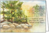 SG203 - Lakeshore Sympathy Cards