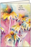 SG214 - Caring Thoughts Sympathy Card