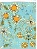 T18 - Thank You Floral Cards
