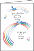 T302D - Thank You Cards for Donations