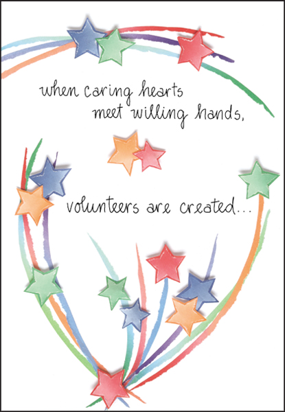 Thank Your Volunteers For Any Occasion   it takes two, inc.