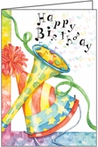 TBL06V - Eighth Note Birthday Cards for Volunteers