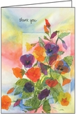 TG301 - Floral Thank You Greeting Cards