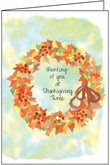 TG884 - Thinking of You Thanksgiving Cards