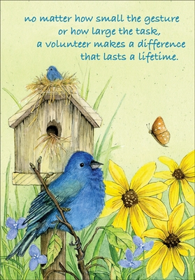 TJ304V - Difference that Lasts Volunteer Thank You Cards