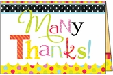 TU307V - Many Thanks Volunteer Thank You Cards