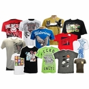 <b>30 Pcs Urban Brand Name T-shirts - $6.50/pc</b>