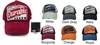 Embroidered Washed Twill Adjustable Strap Hats - Durable