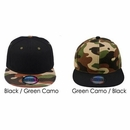 Wholesale Camouflage Hats - Two Tone - Snapback