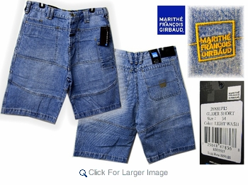 Wholesale Girbaud Jeans - Glider Shorts - Click to enlarge