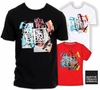 Wholesale Girbaud T-shirts - Stroke de Peint Tees