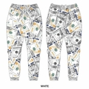 Wholesale Men's Printed Joggers - New Money Benjamins
