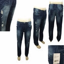 Wholesale Men's Ripped Fashion Jeans - $15.50/pc