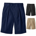 Wholesale Men's Uniform Work Shorts Pleated Front - $4.50/pc