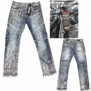 Wholesale Normcore Fashion Moto Biker Rip Jeans - $32.50/pc - M-NRC-2391-SIL