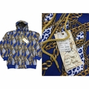 Wholesale Printed Hoodie Fleece Zip Down Jackets - M-BTL-1460-RY - $10.50