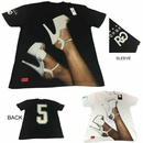 Wholesale Rich Gang T-shirts - $8.50/pc - 6pc pack - M-RIG-1T12-BK
